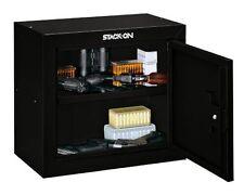 Gun Safe Cabinet Chest Case Box Safety Storage Security Home Handgun Pistol Ammo