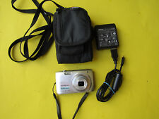 Nikon COOLPIX S3100 14.0MP Digital Camera w/ Charger/Card/Bag Complete Bundle