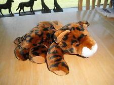 New Vintage Child Jungle Big Cat Purse Leopard Cub Plush Stuffed Animal Toy Nice
