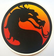 Mortal Kombat Logo Vinyl Sticker