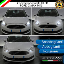 CONVERSIONE FARI FULL LED FORD C-MAX MK3 ANABBAGLIANTI ABBAGLIANTI POSIZIONE