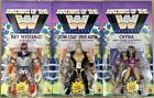 Masters of the WWE Universe Set Wave 8 Stone Cold Mysterio Chyna Walmart In Hand