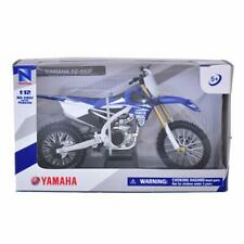 NewRay 1:12 scale Yamaha YZ450 Dirt Bike diecast motorcycle BLUE