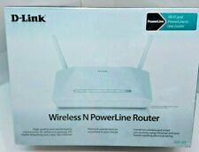 D-Link DHP-1320 300 Mbps 3-Port 10/100 Wireless N powerline router