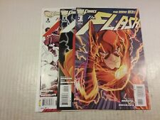 The Flash New 52 Lot #'s 1, 2, and 3, NM-