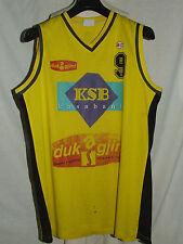 Shirt Maillot Tank Top Basketball Sport Match Worn Duka Gante n° 9  00004000