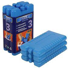 6 Single Pack de bloques Congelador Hielo Reutilizable Cool Almuerzo Viaje Picnic Bebidas Frías