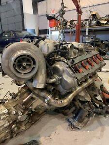 2007 Audi S6 V10 Motor 66k GT45R 5.2L CUSTOM Turbo System Complete