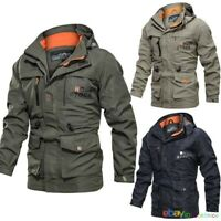 UK Men's Combat Army Military Tactical Jacket Soft Shell Hunting Waterproof Coat