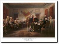 Declaration of Independence by John Trumbull - Revolutionary Era - History Art