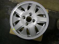 """NOS OEM Daewoo 2000 2001 2002 Nubira Aluminum Wheel 14x5.5"""" Part # 96268556"""