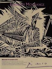 catalogue de vente FOND Pierre Domec Atelier Blanchet Livre Illustre d'artiste