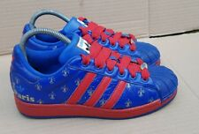 ADIDAS SUPERSTAR 35th ANNIVERSARY I LOVE PARIS TRAINERS SIZE 5 UK RARE 25 CITIES
