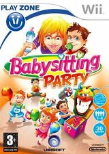 Babysitting Party Nintendo Wii Game