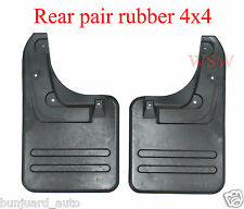 PAIR 4x4 TOYOTA HILUX 2005-2015 MK6 SR5 VIGO 4WD REAR MUD FLAP SPLASH GUARD 06