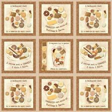 CLEARANCE! SPX Biscotti Cookie Blocks Cotton Quilting Fabric 22216-Beige, BTY