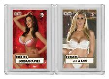 Jordan Carver rare MH Booking #'d 1/3 Tobacco card no. 497