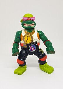 TMNT Vintage RAPPIN' MIKE Figure Incomplete Rock'N Rollin Turtles 1991 Playmates