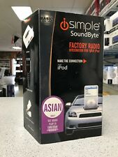 iSimple ISAS71 Asian/Import Factory Radio Integration for Iphone/Ipod