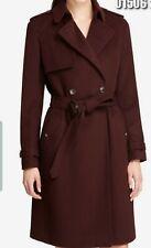 DKNY Women Coat Size Us 4 Color Wine BNWT RRP 280