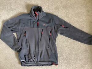 Mens Berghaus Choktoi Windstopper Fleece Jacket Grey, Size Small