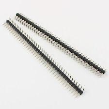 10Pcs 2mm Pitch 40 Pin Male Single Row Reverse Right Angle Pin Header Strip