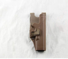 Tactical Holster Right Hand Paddle with Belt Holster for Colt 1911 M1911 Tan