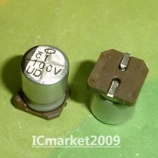 40x SMD-Elko Panasonic S 100µF//35V 85°C 6,3x7,7mm 2000h EEE1VA101XP 100uF