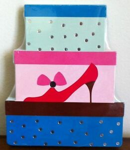 New Shoe & Boxes Shaped Notepad Writing Notebook Great for Shopping List Small