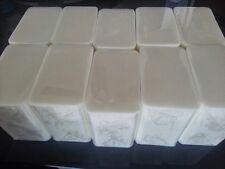 10 lb LOW SWEAT WHITE Melt And Pour Glycerin Soap All Natural BULK Wholesale