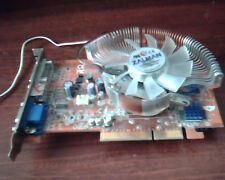 AGP card Abit Radeon R9550-256CDT 3044-0413-59 9550 256MB Zalman CDT
