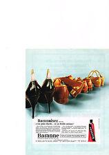 PUBLICITE  1967   BARANNE   cirage chaussures