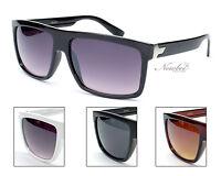 Mens Sunglasses Dark Lens Rectangular Frame Sunglasses Casual Flat Tops Sunglass