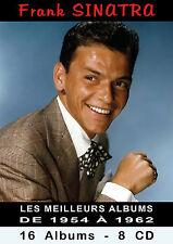 CD Frank Sinatra : Les Meilleurs Albums de 1954 à 1962 - Coffret Longbox 8 CD
