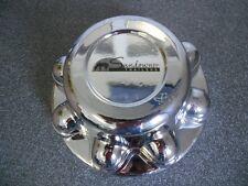 "SUNDOWNER 8 lug 8 3/8"", fits 13/16"" lug nut, chrome center cap hub cap hubcap"