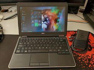 """Dell Latitude E7240 12.5"""" SILVER i5-CPU 4GB RAM 128GB Samsung SSD Windows 10 Pro"""