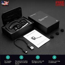 Bluetooth 4.1 HD Stereo Wireless Business Work Headset Earphone Waterproof Noise