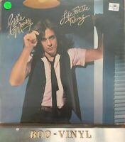 "EDDIE MONEY ""Life for the Taking"" Vinyl LP Demo Vg+"