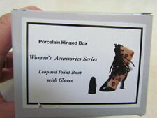 Midwest of Cannon Falls Women's Accessories Series Phb: Leopard Print Boot Mib!