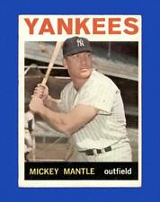 1964 Topps Set Break # 50 - Mickey Mantle VG-VGEX (crease) *GMCARDS*
