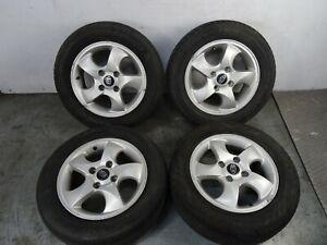 """Kia Rio 2011 15"""" Alloy Wheel & Tyre Full Set 205 60 R15"""