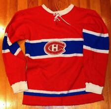 Vintage 1950's Montreal Canadiens Youth Hockey Sweater Jersey!