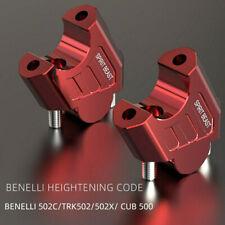 "28MM 1-1/8"" Motorcycle HandleBar Riser for Benelli 502C TRK502X TRK502 CUB500"