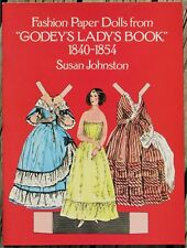 Fashion Paper Dolls from Godey's Lady's Book 1840-1854 Uncut Susan Johnston 1977