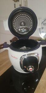 Moulinex Cookeo 6L 1200W Robot de Cuisine - Blanc (CE704110)