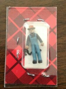 Campbell Weston Section Hand with Chain HO Scale Figure 1250