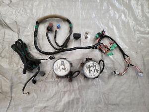 2003-04 HONDA ELEMENT Fog Light Kit OEM + Switch & Harness RD1,RD7,EG6,EK9,DC2