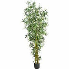 Nearly Natural 5195 Fancy Style Bamboo Silk Tree- 8-Feet NEW