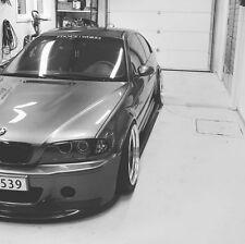 BMW E46 COUPE CONVERTIBLE MODELS M3 CSL style front bumper + lip
