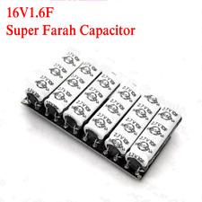 2.7V10F Super Farah Capacitor 16V1.6F Reserve Power Supply 16V2F 16V1F